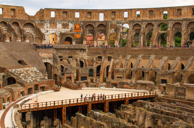 Gladiator Gate And Arena Floor Special Access Colosseum Tour 2019 Rome