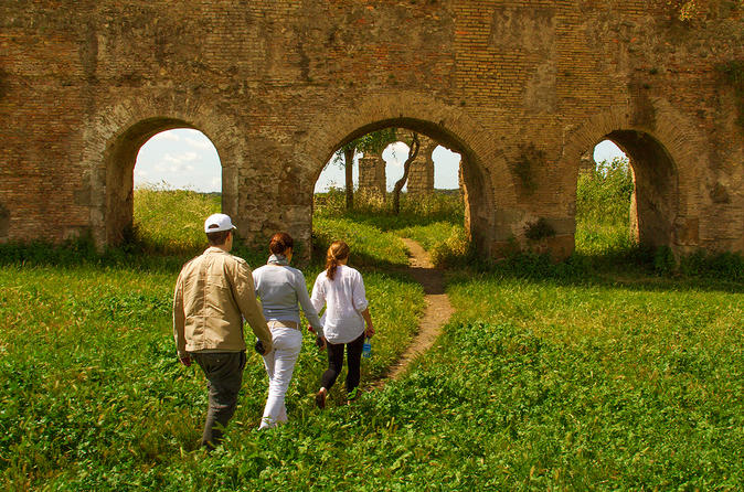 Rome Off the Beaten Path, Including Appian Way Aqueducts and Jewish Ghetto