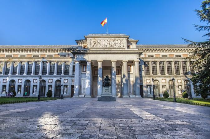 Skip the Line Prado Museum with & Monumental Madrid City Stroll