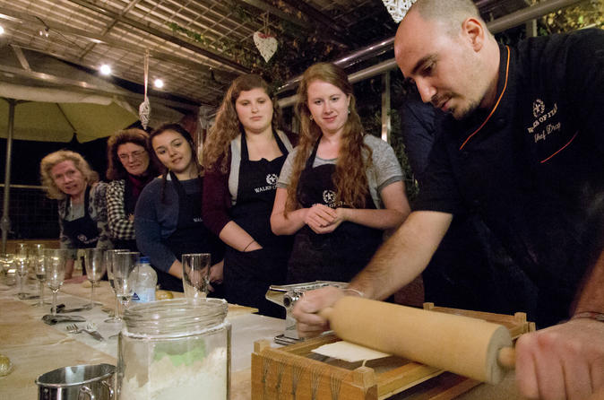 Small-Group: Pasta Making Class with a Local Chef in Rome