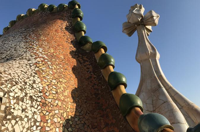 The Complete Gaudi Tour with Casa Batlló, La Pedrera, Park Guell & Extended Sagrada Família