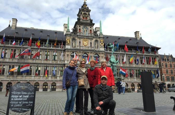 3-Hour Private Tour with Highlights in Antwerp