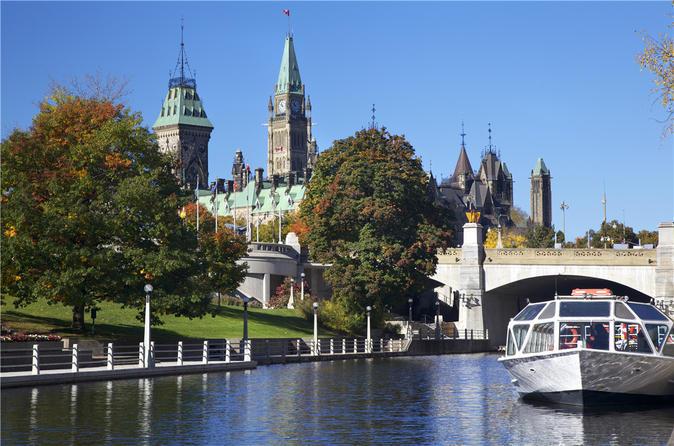 Viagem diurna de Montreal para Ottawa