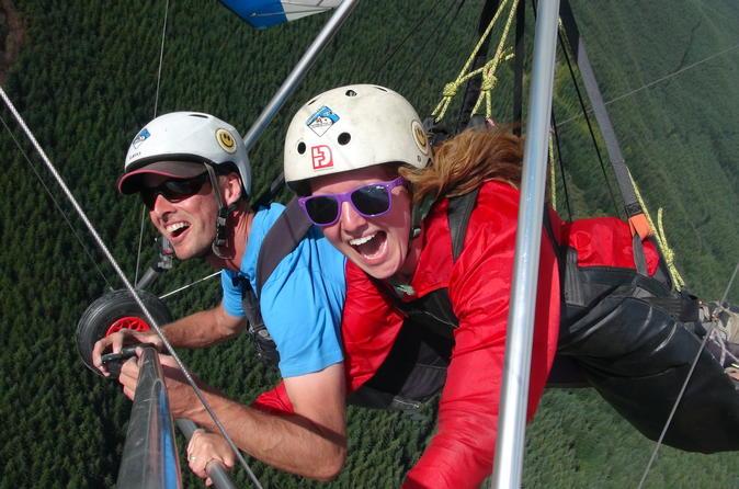 Coronet Peak Tandem Hang Gliding