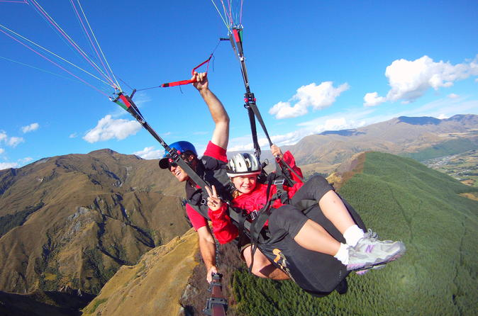 Coronet Peak Tandem Paragliding Main Take off