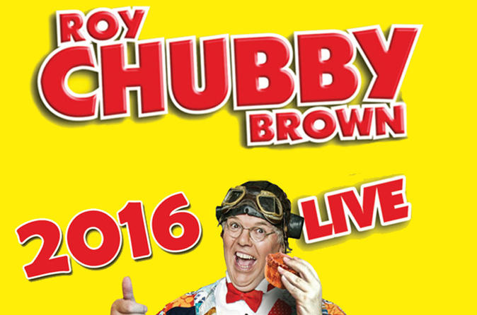Roy chubby brown on stage in blackpool in blackpool 325452
