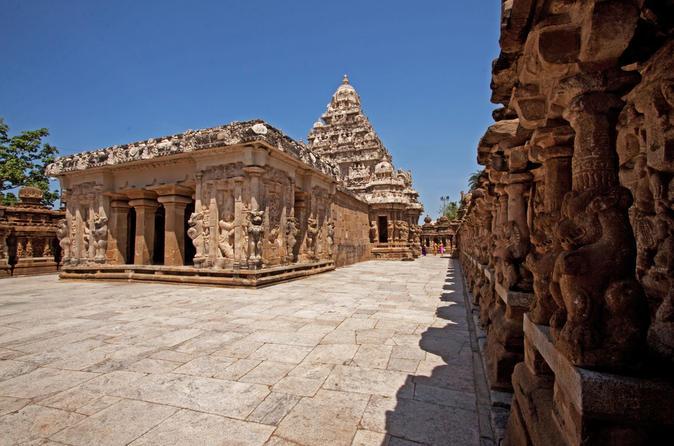 Full-Day Temple Tour of Kancheepuram from Chennai India, Asia
