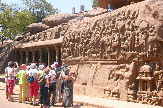 Historical Walking Tour in Mamallapuram