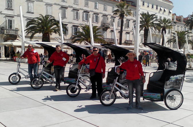Guided Tour: Highlights of Split by Rickshaw