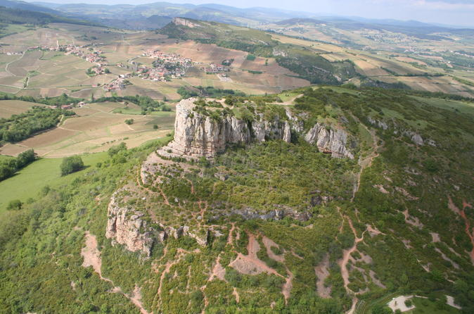 Private panoramic Helicopter Tour of the 2 Rocks - Southern Burgundy