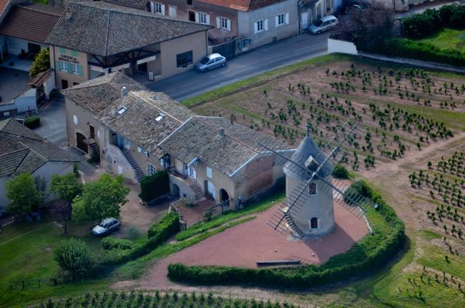 Private panoramic helicopter tour of the wine route in southern in m con 225636