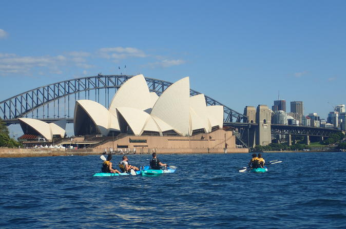 Sydney Harbour Highlights Kayak Tour Australia, Pacific Ocean and Australia