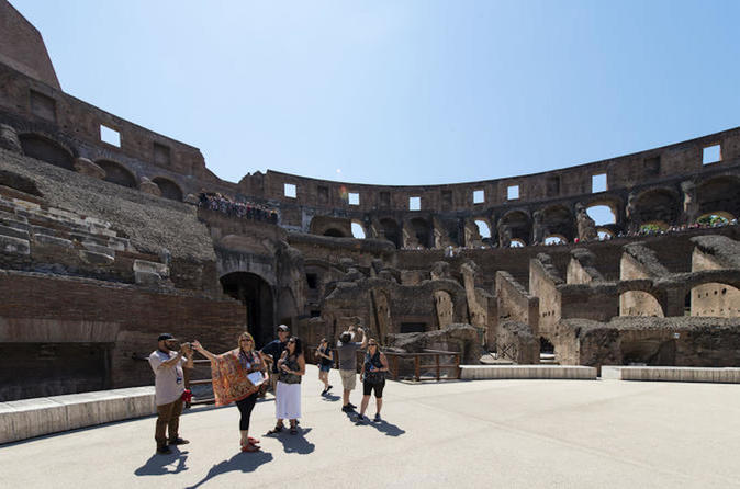 Exclusive 1-hour VIP Extra Small Group Gladiators Arena Experience - Rome