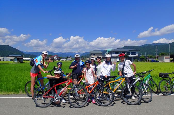 Hida biking day tour in takayama 245079