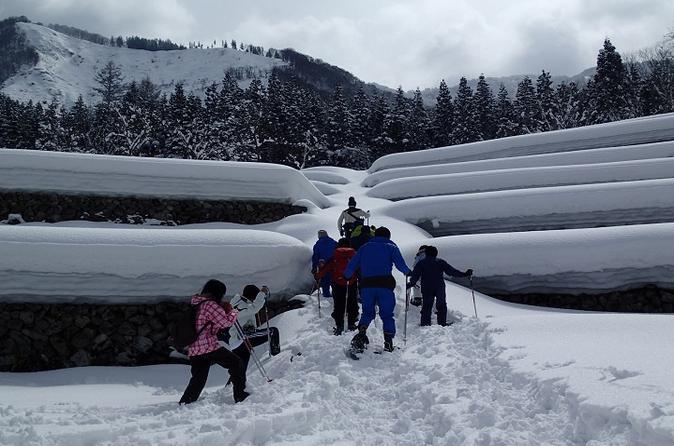 Winter Small Village Snowshoeing in Hida
