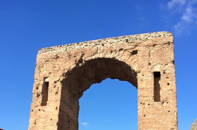 Excursão particular: viagem de um dia inteiro para o Monte Herculano Monte Vesuvius e Pompeia