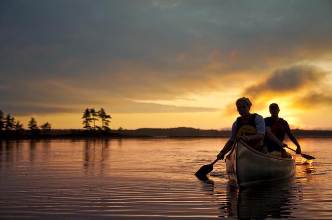 3-Day Frozen Ocean Canoe Trip in Kejimkujik National Park