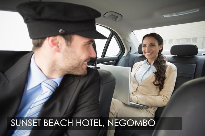 Colombo, Sri Lanka Airport (CMB) to Sunset Beach Hotel, Negombo
