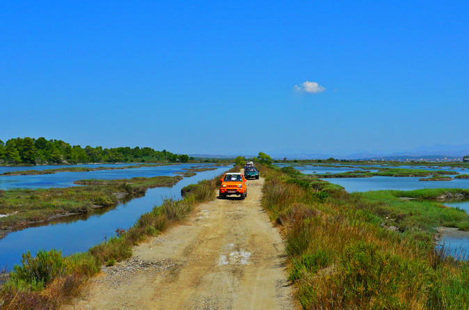 Jeep Tour in Karavasta Lagoon
