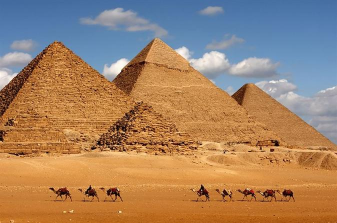 half day the pyramids and sphinx