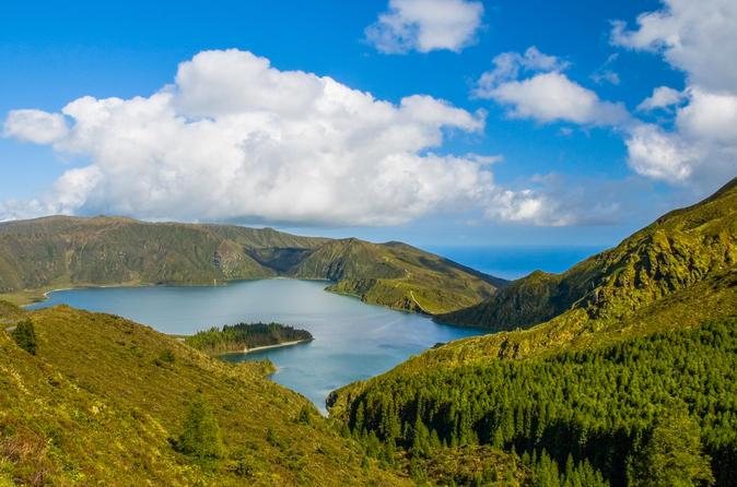 Shore Excursion: Sete Cidades, Furnas or Lagoa do Fogo from Ponta Delgada
