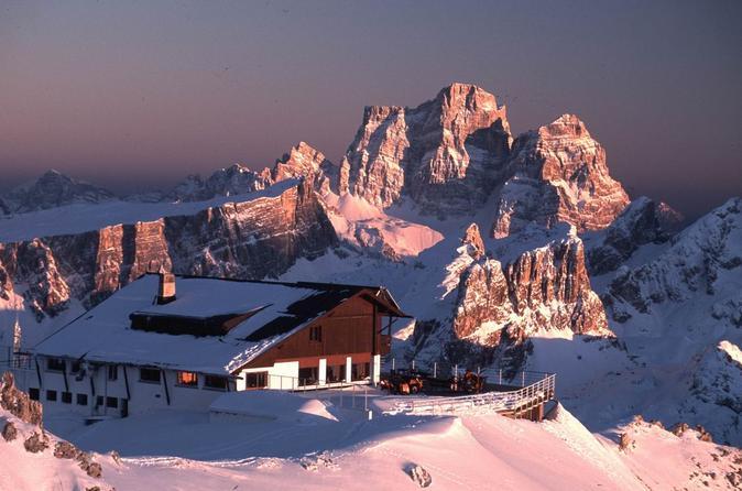 Dolomiti Ski Tour Super8 Lagazuoi and 5 Torri from Cortina d'Ampezzo