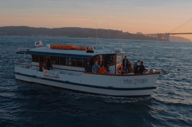 San Francisco Bay Sunset Wine-Tasting Cruise