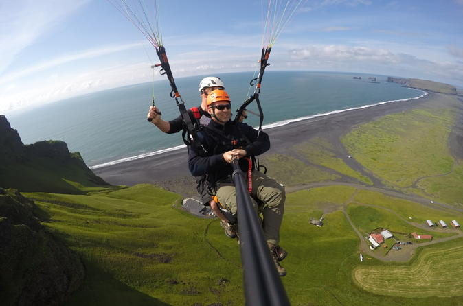 Luxury Self-drive Paragliding Day Tour from Reykjavik