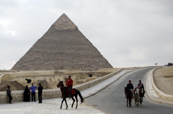 From Sharm El Sheikh By Plane: Full-Day Private Cairo Tour