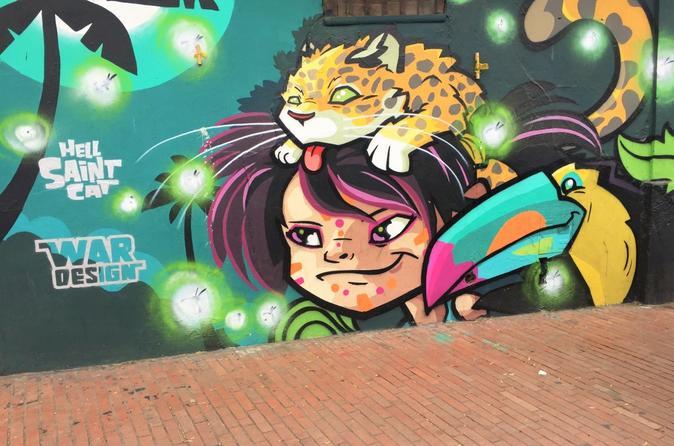 Excursão particular de grafite em Bogotá