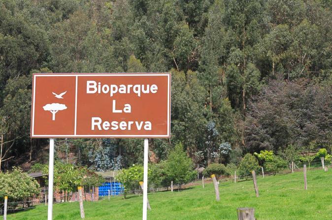 Private BioPark Reserve Tour from Bogotá