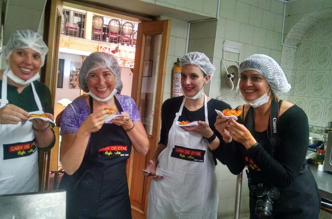 Private Gastronomy Tour Including Cooking Class