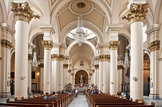 Private Tour: Bogotá Religious Sites Including Lunch