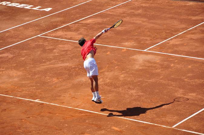 Tennis Class with Instructor at Bogotá Tennis Club