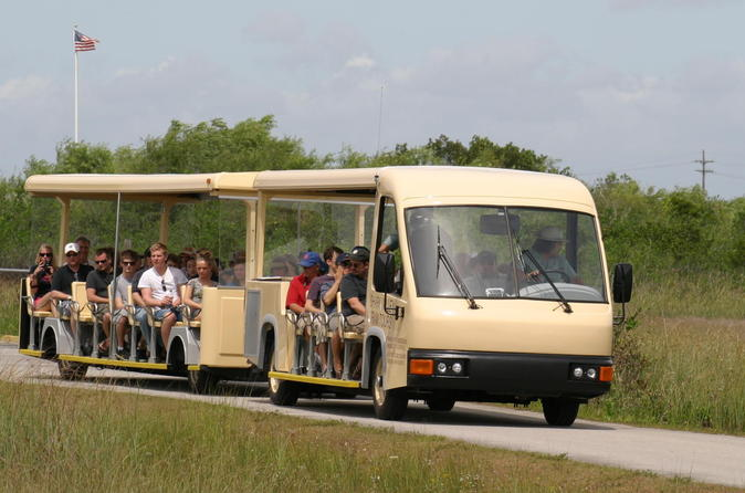 Shark valley everglades guided tram tour in miami 224674