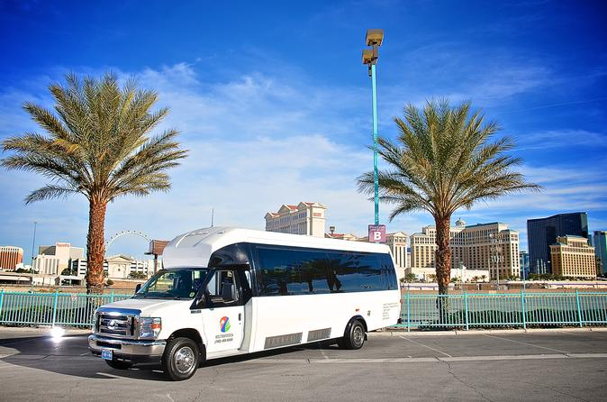 Private Las Vegas Airport Round-Trip Transfer: 24 Passenger Van