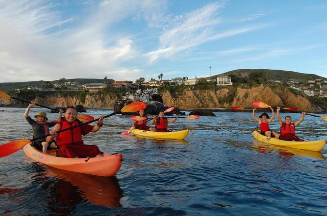 Laguna Beach Kayak Tour with Sea Lion Viewing