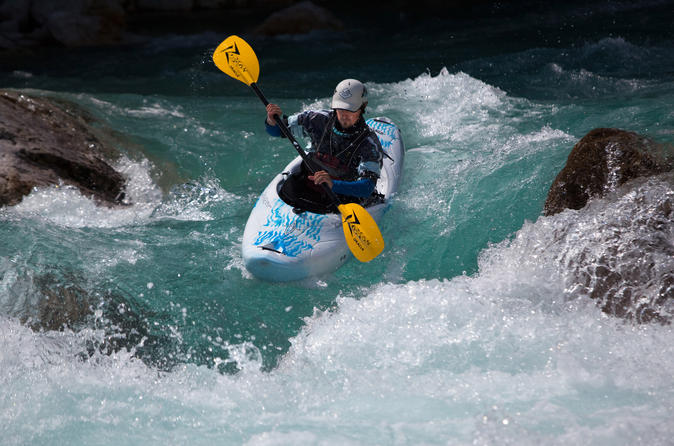 Kayak course on soca river from bovec in bovec 291923