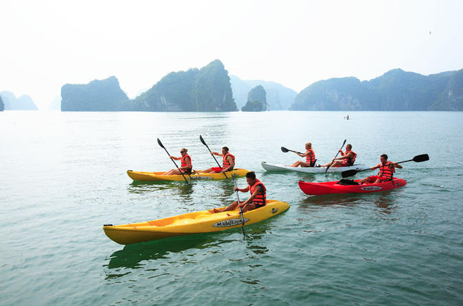 Overnight Halong Bay Cruise on 4-Star White Dolphin