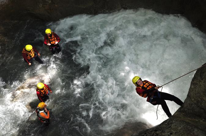Canyoning at saxeten from interlaken in interlaken 219122