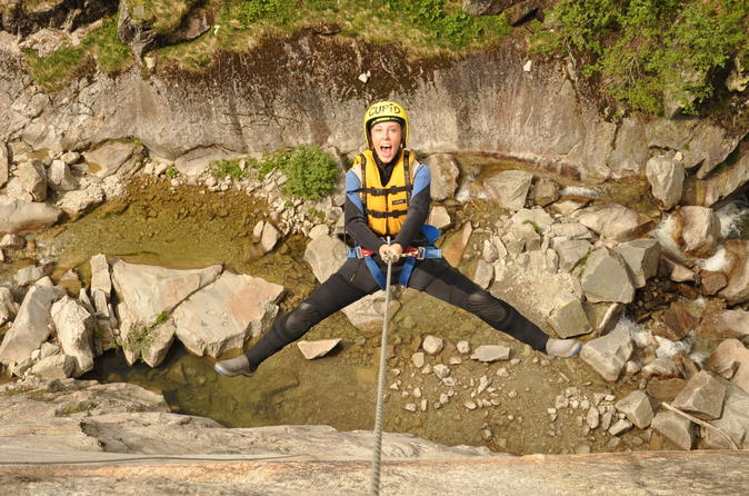 Full-Day Canyoning at Grimsel from Interlaken