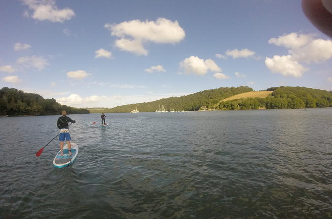 River Fal and Creeks 2 hour SUP Tour in Cornwall