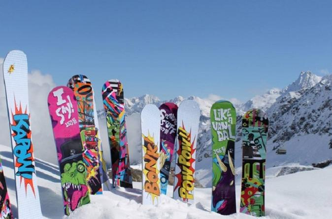 Mammoth Mountain Premium Snowboard Rental Including Delivery