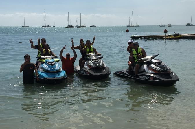 1-Hour Jet Ski Tour at Boqueron Beach