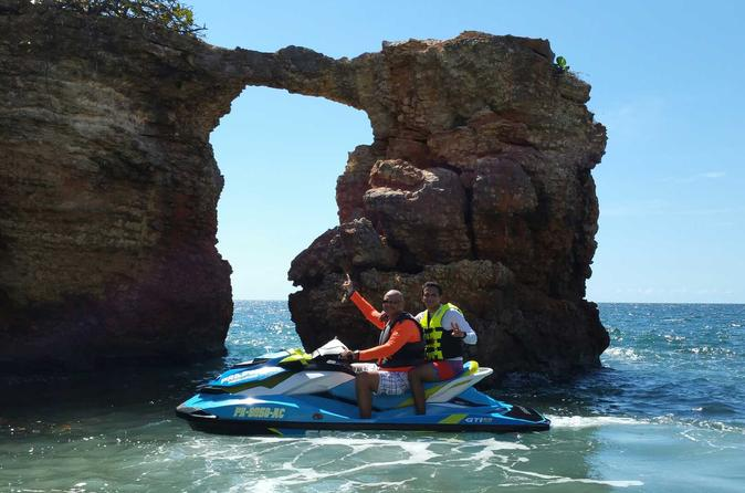 2-Hour Jet Ski Tour at Boqueron Beach