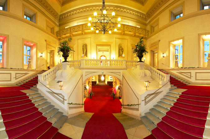 Private Vienna New Years Dinner With Private Butler at Palais Auersperg Including Limousine Service