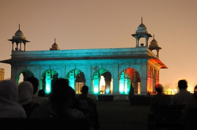 Light and Sound Show at the Red Fort from Delhi