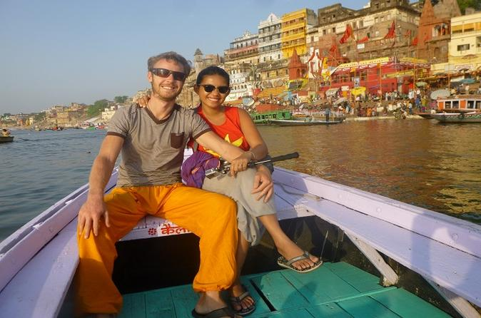 Private tour sunrise boat cruise on the river ganges from varanasi in varanasi 270368