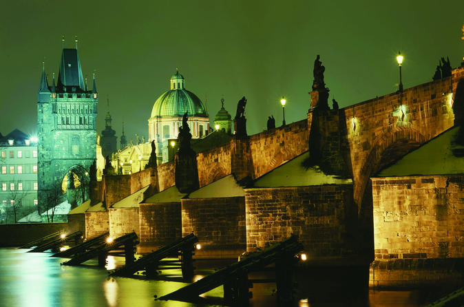 Prague 3-hour Prague Vltava River Evening Cruise Including Dinner Czech Republic, Europe