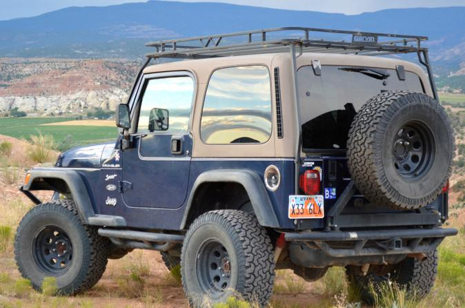 Grand Staircase-Escalante National Monument Jeep Rental